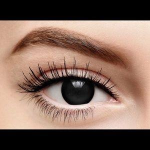 FreshTone Halloween Cosplay Cosmetic Black Lens